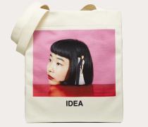 """Valentino Garavani Shopper mit """"idea""""-print, Designt in Zusammenarbeit mit Izumi Miyazaki"""