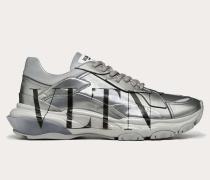 Sneakers Bounce Vltn aus Metallisiertem Leder
