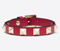 Valentino Garavani Armband Rockstud aus Kalbsleder