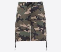 Valentino Uomo Bermuda-shorts mit Camouflage Print S