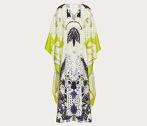 VALENTINO Abendkleid aus Popeline mit Print