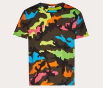 Valentino Uomo T-shirt Camouflage M