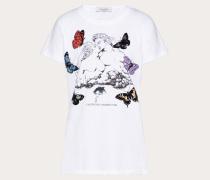 Valentino T-shirt aus Baumwolljersey mit Undercover Print S