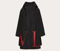 Valentino Mantel Vltn aus Micro Faille