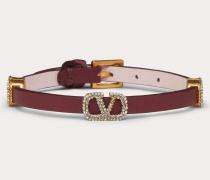 Armband Vlogo Signature aus Leder