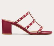 Valentino Garavani Slider-sandalen Rockstud aus Kalbsleder mitMm-absatz