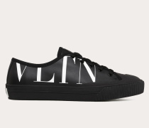 Valentino Garavani Uomo Sneakers aus Canvas mit Vltn-print