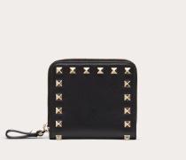 Valentino Garavani Kompakte Brieftasche Rockstud