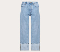 Valentino Uomo Jeans Im Baggy Fit
