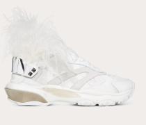 Valentino Garavani Low-top Sneaker Bounce mit Federn