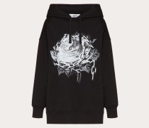Valentino Sweatshirt aus Baumwolljersey mit Undercover Print S