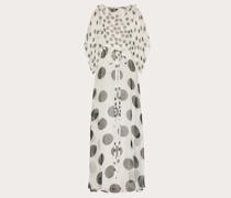 VALENTINO Bedrucktes Abendkleid aus Chiffon