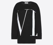 Valentino Pullover mit Maxi-vltn M