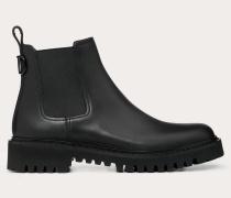 Valentino Garavani Uomo Chelsea Boots Vlogo aus Kalbsleder