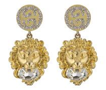 Löwenkopf-Ohrringe mit GG