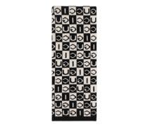 Schal aus GucciWolle mit Schachbrettmuster
