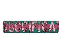 Guccification Stirnband mit Pailletten