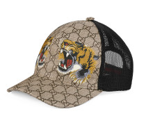 Baseballkappe aus GG Supreme mit Tiger-Print