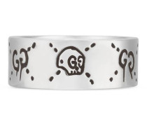 GucciGhost Ring in Silber