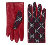 Handschuhe aus Leder mit GG Diamond