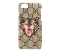 iPhone 7-Etui mit Böse Katze-Print