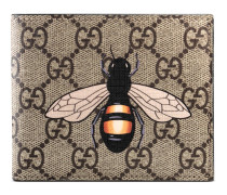 Brieftasche aus GG Supreme mit Bienenprint