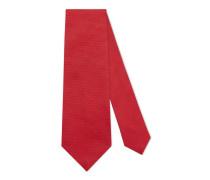 Krawatte aus Seide mit Bienen-Stickerei