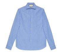 Hemd aus gestreifter Baumwolle