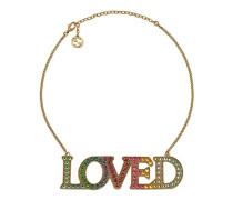 Loved Halskette mit Kristallen