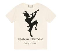 Übergroßes T-Shirt mit Chateau Marmont-Print