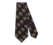 Krawatte aus Seide mit Bienen-Muster