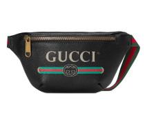 Kleine Gürteltasche mit Gucci Print
