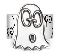 GucciGhost Ring aus Silber
