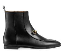 Gucci Jordaan Stiefelette aus Leder