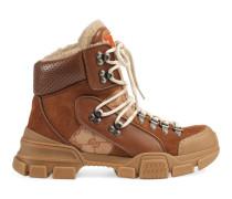 Flashtrek High-Top-Sneaker mit GG und Wolle