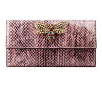 Queen Margaret Continental Brieftasche aus Schlangenleder