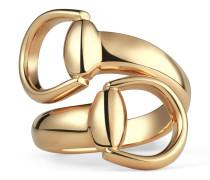 Horsebit Ring aus Gelbgold
