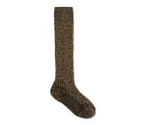 Damen Gucci-Dapper Dan Socken aus Wolle und Lurex
