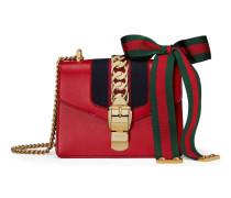 Mini-Tasche Sylvie aus Leder mit Kette