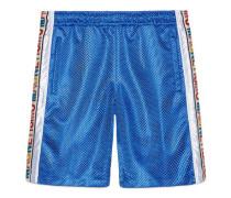 """Shorts aus Netz mit """"Magnetismo""""-Streifen"""