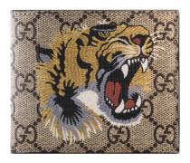 Brieftasche aus GG Supreme mit Tigerprint