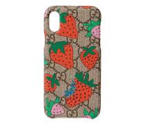 iPhone X/XS-Hülle mit Strawberry