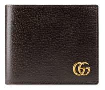Faltbrieftasche GG Marmont aus Leder