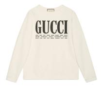 Pullover aus Baumwolle mit Gucci Cities-Print