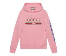 Pullover mit Gucci Logo und Drache