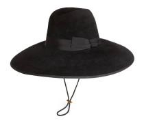 Hut aus Filz mit breiter Krempe