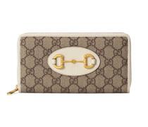 Gucci 1955 Horsebit Brieftasche mit Reißverschluss