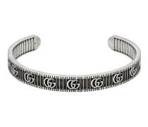 Doppel G Armband aus Silber