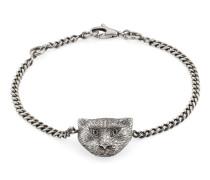 Gucci Garden Armband aus Silber mit Katze