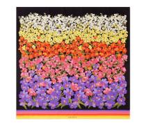 Halstuch aus Seide mit abgestuftem Blumen-Print